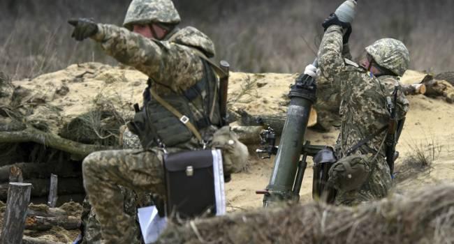 ВСУ мужественно, без потерь отразили 12 попыток боевиков прорвать оборону на Донбассе
