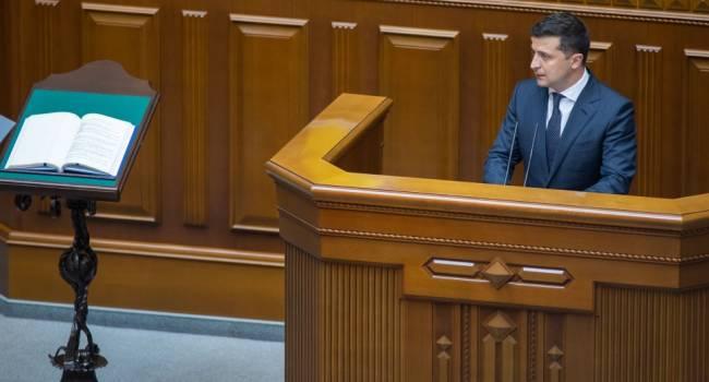 Доник: стесняюсь спросить, вокруг чего Зеленский предложил объединяться? Вокруг закона от Бужанского или вокруг интересов Коломойского?