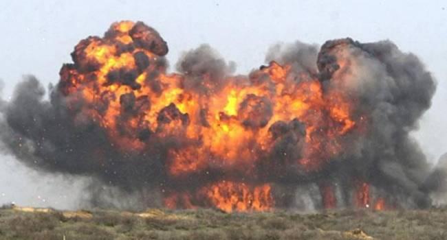 «Склад с БК украинцев?»: На западе от Горловки прогремел невероятной силы взрыв