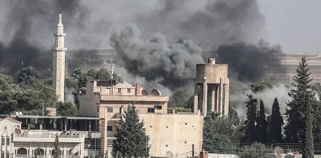 В Сирии турецкие войска мощно заглушили россиян артиллерией – «Кавказ Центр»