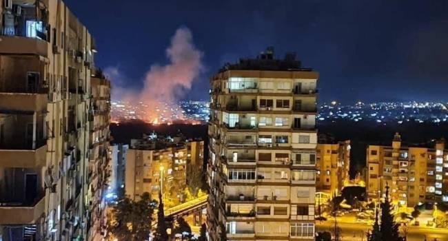 «Израиль пошел в атаку на Сирию»: В небе над Дамаском взрывы, работают израильские ВВС и ПВО сирийской армии