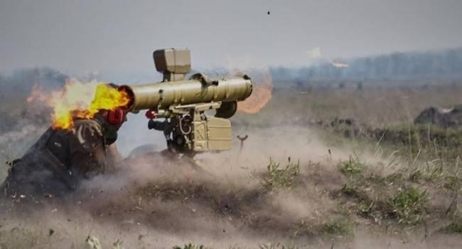 ВСУ ювелирным выстрелом из ПТУР нанесли летальный удар по позиции российских войск на Донбассе