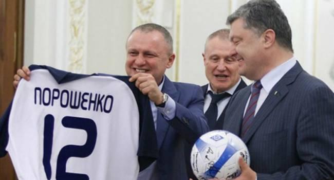 Журналист: Порошенко должен предложить Суркису купить «Динамо»