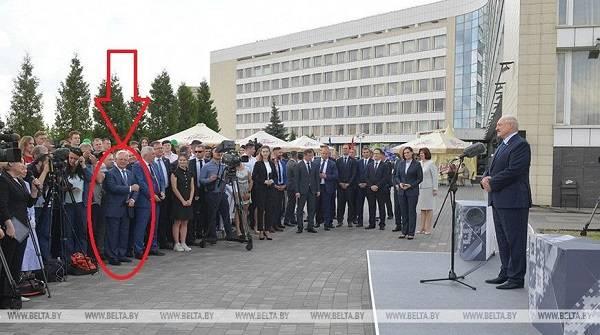 Глава запрещенной в Украине Компартии Симоненко побывал на пресс-конференции Лукашенко