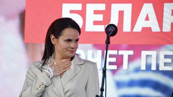 Тихановская определилась с главной задачей на должности временного президента Беларуси