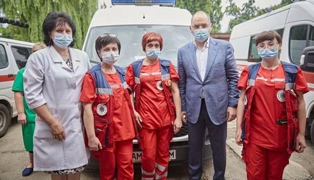 Степанов пообещал полное обновление в Украине парка «скорых»