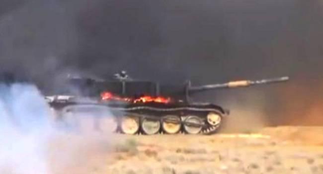 В ВС РФ объявили тревогу, начали формировать колонну и вдруг … сгорел танк Т-72БМ