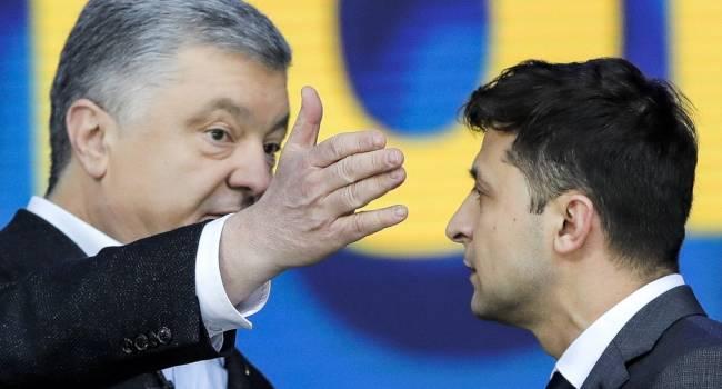 «Электората у него просто нет»: политолог рассказал, как Зеленский и Порошенко играют в паре