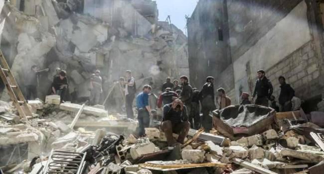 Войска РФ и асадиты бомбят Идлиб: Погибли более сотни мирных жителей
