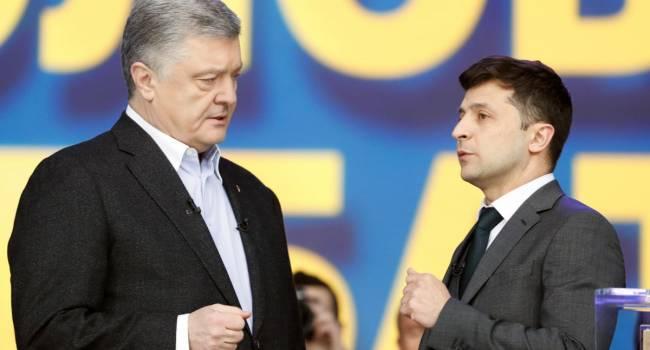 Политолог: Остатки рейтинга Зеленского держатся на запугивании украинцев «реваншем Порошенко». Именно поэтому власть и «рисует» такие рейтинги пятому президенту