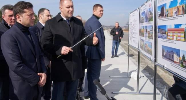 Эпохальный распил госбюджета: 1 км дорог проекта «Большое строительство» Зеленского вырос в цене на 57%
