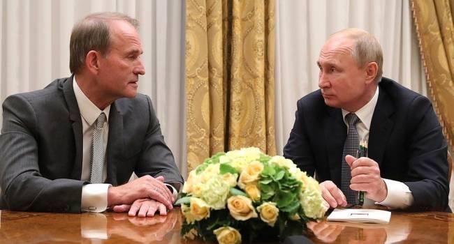 ГБР и СБУ могут вручить Медведчуку подозрение о государственной измене