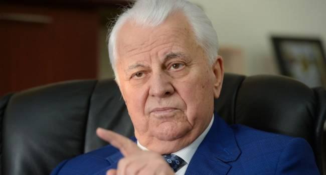 Политолог: Кравчук, едва войдя в роль руководителя украинской делегации в ТКГ, наговорил столько, что осмыслить сказанное им очень сложно