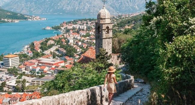 Из-за пандемии Черногория потеряла 92% туристов