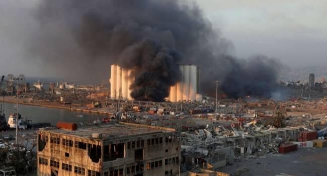 Взорвались склады с иранским сырьем для производства ракет: стала известна причина катастрофического взрыва в Ливане