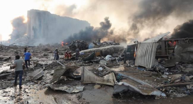 Взрыв в Бейруте – это звоночек для Украины: проекты Порошенко по строительству складов для хранения боеприпасов заморожены