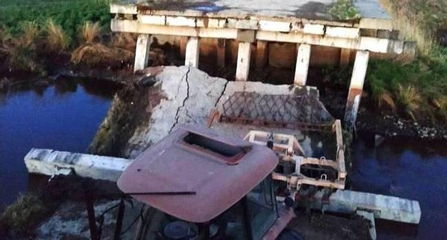«Десятки жертв обрушения»: В России в районе военных учений обрушился железнодорожный мост
