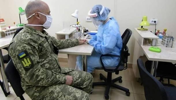 Еще 30 украинских военнослужащих заразились коронавирусом