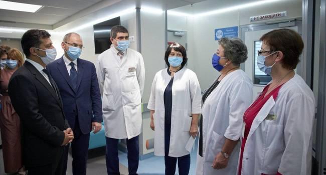 Корчинская: После визита Зеленского врачи и медсестры детской клиники «Охмадит» получили почти в 2 раза меньшую зарплату, чем в июне