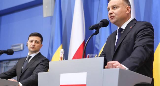 Украина может рассчитывать на поддержку Варшавы во время председательства Польши в ОБСЕ – Дуда