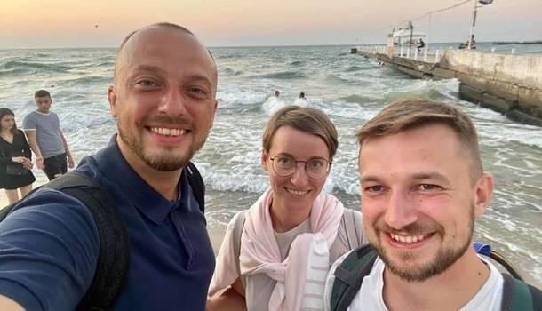 В Украину вернулись задержанные в Беларуси журналисты