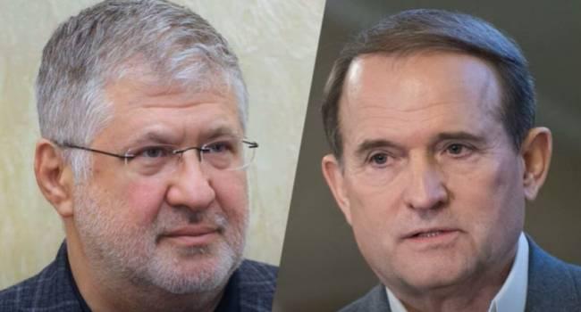 Черновол: Коломойский старается заручиться поддержкой России, и по многим вопросам он уже опередил Медведчука