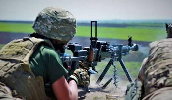 В штабе ООС заявили о 8 нарушениях режима перемирия пророссийскими боевиками
