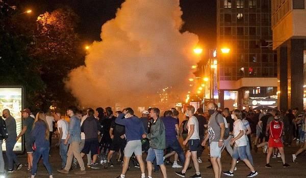 В Беларуси признали, что против участников митинга были применены гранатометы