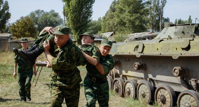 «Сами себя начали вырезать»: Боевики Донбасса понесли очередные потери