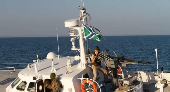 «Еще чуть-чуть, и пальнули бы»: Пограничное судно РФ совершило провокацию в водах Азовского моря