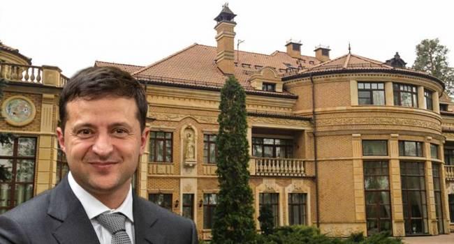 Арьев: Президент собирался перебраться на госдачу еще в июне прошлого года. Теперь вы, простые украинцы, оплачиваете жилье долларовым миллионерам Зеленским