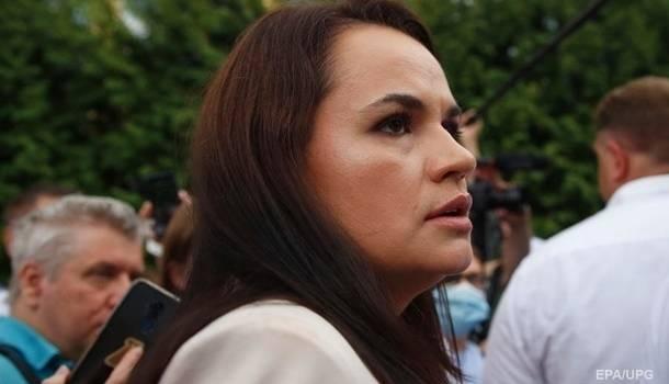 В МИД Литвы говорят, что Тихановской нужно время для принятия решения