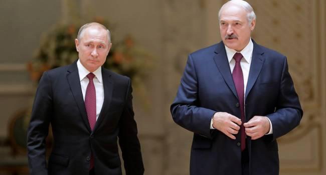 Социолог: Путин хочет заставить Лукашенко пойти на аншлюс Беларуси в Россию