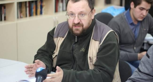 Пропагандист «ДНР» заявил, что мечтает дожить до тех времен, когда за украинский язык будут заливать в глотку расплавленный свинец