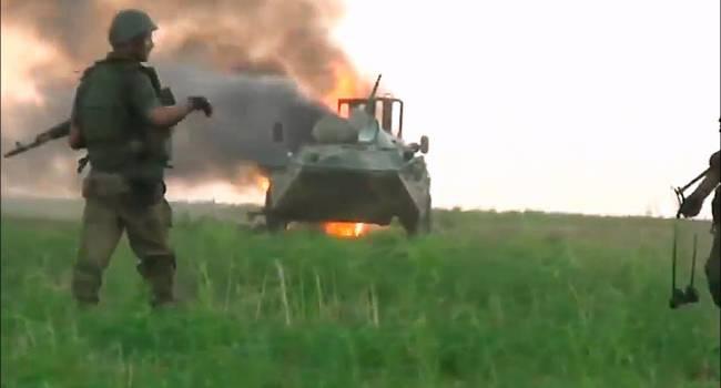«Летальные потери»: Грузовик с бойцами ВСУ взлетел в воздух на Донбассе