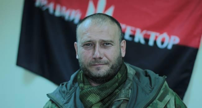 Дмитрий Ярош призвал проукраинские силы объединяться вокруг «Европейской Солидарности»