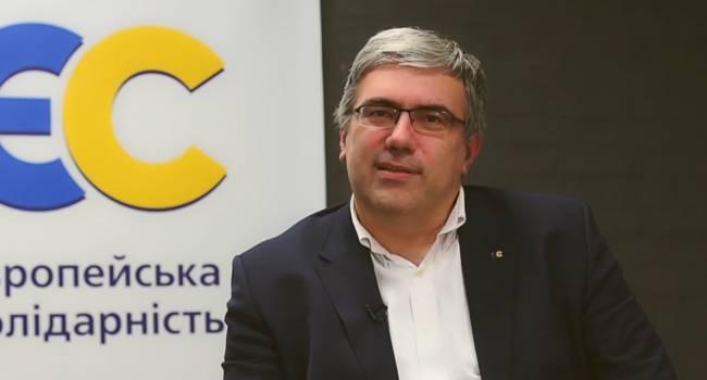 «Только говорить о санкциях недостаточно»: Павленко заявил, что нынешняя украинская власть забыла о необходимости постоянно оказывать давление на Россию