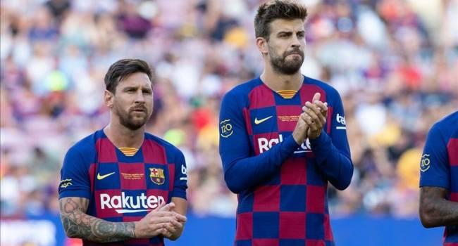 «Команда уже достигла своего дна»: Месси и Пике выразили готовность уйти из «Барселоны»