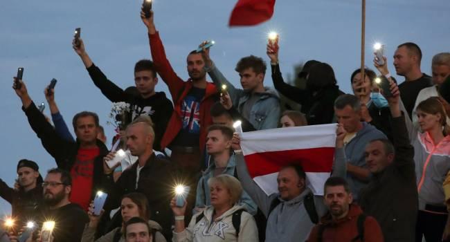 Телеведущая: белорусы продолжаю клясться в верности русским, заявляя, «Не думайте о нас плохо. Здесь не Майдан»