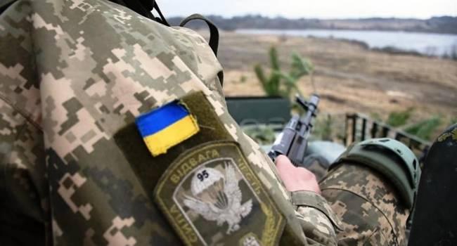 В штабе ООС отчитались о потерях в рядах ВСУ за последние 20 суток