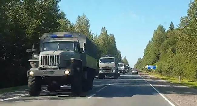 Журналист: Кремль подтягивает Росгвардию с автозаками к границе с Беларусью