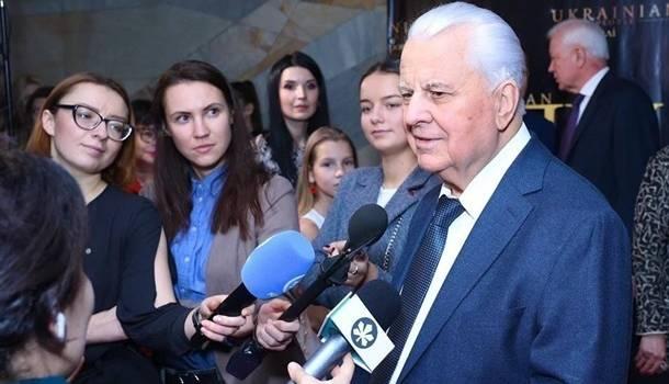 Кравчук рассказал о «вариантах» переговоров с представителями ОРДЛО