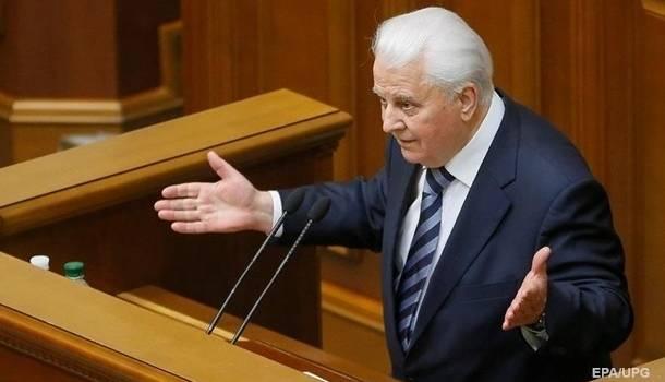 «Проявил дипломатический подход»: Кравчук начал переговоры по Донбассу