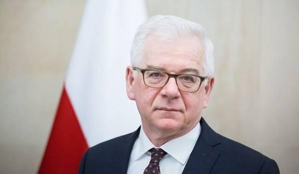 Стало известно об отставке главы МИД Польши