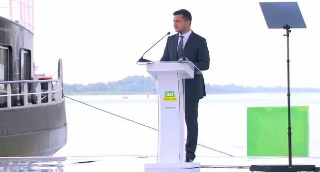 Зеленский: Развитие Херсонской области поспособствует возвращению Крыма в Украину