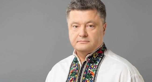 «Если вы действительно любите Украину»: Порошенко призвал украинцев смотреть патриотические телеканалы, где нет фейков и «пятой колонный» Кремля