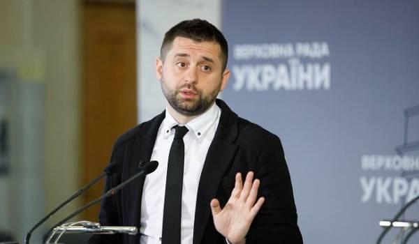 «Ничего не планируем»: Арахамия ответил на заявление Кравчука о поставках воды в Крым