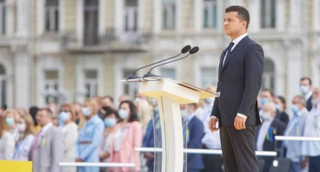 Гончаренко: Один европейский политик меня спросил - Зеленского действительно не было на Марше ветеранов? Президент воюющей страны делает вид, что войны нет?