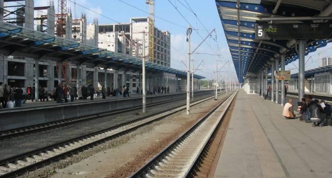 Возле железнодорожного вокзала Киева построят торгово-выставочный центр