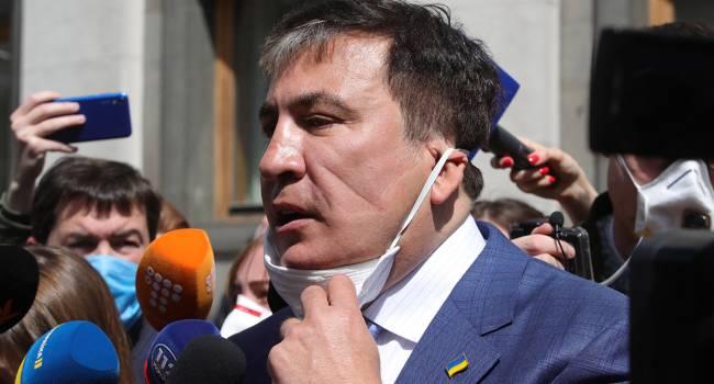 Саакашвили вне себя от того, что увидел в Зеленского то, в чем обвинял Порошенко